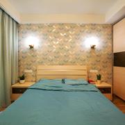 16平米现代风格卧室设计装修效果图