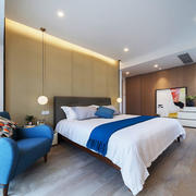 30平米现代风格时尚卧室装修效果图