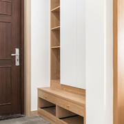 简约风格实用玄关鞋柜设计装修效果图