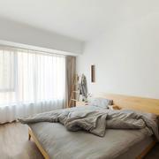 16平米宜家风格简约卧室设计装修效果图