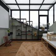 中式风格创意独特书房设计装修效果图