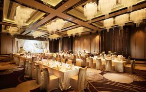 欧式风格奢华精美酒店餐厅装修图