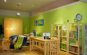 16平米简约风格儿童房装修效果图集