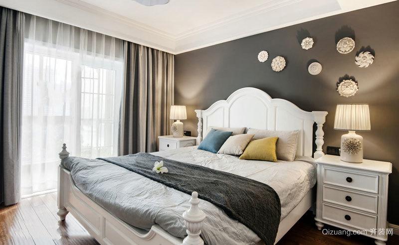 温馨舒适简欧风格卧室设计装修效果图