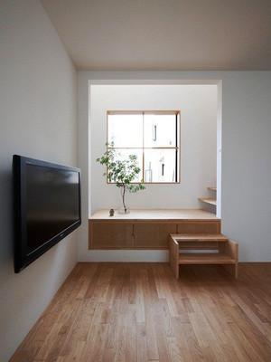 日式风格102平米小复式楼室内装修效果图