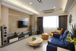 温馨轻松简约风格两室两厅装修效果图