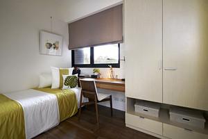现代风格简单精致90平米室内设计装修效果图