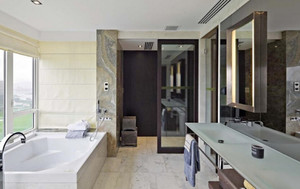 时代化新中式风格别墅室内设计装修效果图赏析