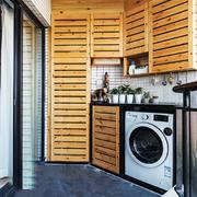 现代风格阳台柜子设计装修效果图