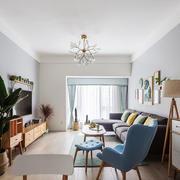 宜家风格简约小户型客厅设计装修图