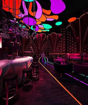 现代风格140平米音乐酒吧装修效果图