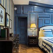 地中海风格精美卧室门设计装修效果图