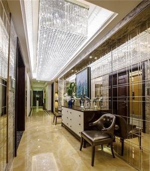 新中式风格古典精美340平米别墅室内装修效果图