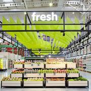 100平米现代风格水果店装修效果图