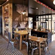 时尚个性后现代风格咖啡厅装修图
