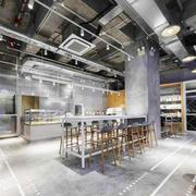 简约休闲咖啡厅设计装修效果图