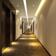 现代风格酒店过道装修效果图片