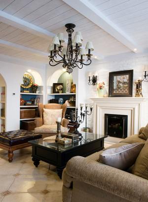 古典欧式风格精装大户型室内设计装修效果图