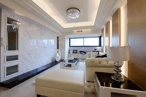 简欧风格宽敞舒适两室两厅室内设计装修效果图