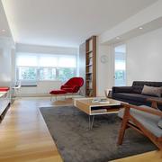 简约风格宽敞舒适客厅设计装修效果图