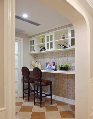 欧式风格精致家装吧台设计装修效果图