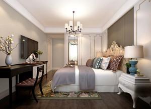 奢华精美欧式风格大户型卧室装修效果图