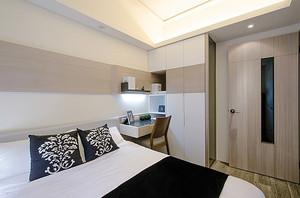 现代风格简单舒适两室两厅室内装修图
