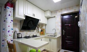 简约风格59平米两室一厅室内装修效果图
