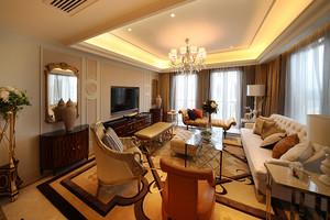 新古典主义风格古典精美大户型室内装修效果图