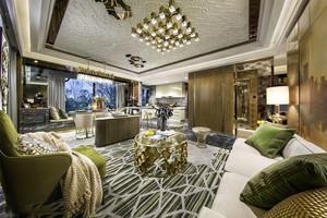 新古典主义风格低调奢华客厅设计装修效果图
