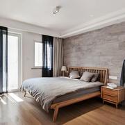 宜家风格简单舒适卧室窗帘装修效果图赏析