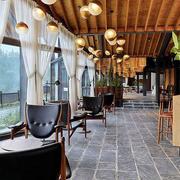 复古时尚小资咖啡厅装修效果图