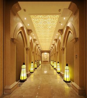 欧式风格精致酒店过道装修效果图片