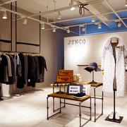 简约50平米时尚服装店装修效果图