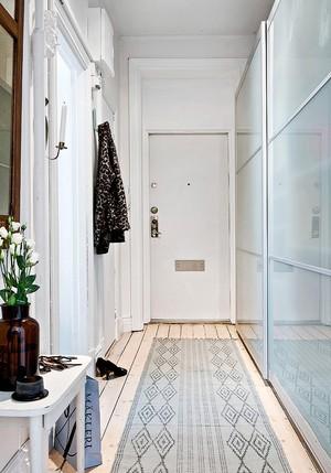 46平米北欧风格精装单身公寓设计装修图