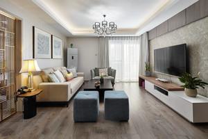 现代风格精致客厅吊顶设计装修效果图