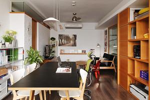 清新宜家风舒适复式楼室内设计装修效果图
