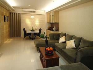 现代风格精装80平米室内装修效果图赏析