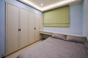 温馨新中式风格125平米三室两厅装修效果图
