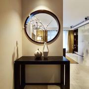 古典雅致新中式风格玄关设计装修图
