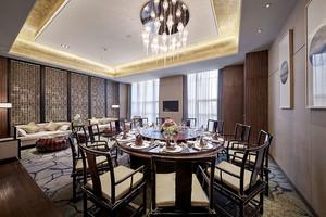 中式风格酒店包厢设计装修效果图