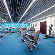 现代风格50平米开个小型健身房装修效果图