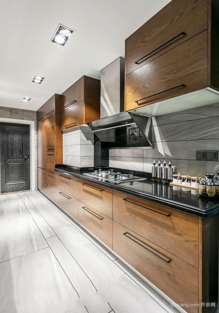 现代风格精致大户型整体厨房设计装修效果图