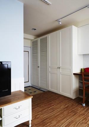 简欧风格温馨59平米公寓设计装修效果图