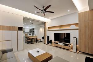 简约风格自然舒适139平米复式楼装修效果图