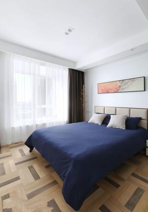 简约风格简单舒适卧室窗帘装修效果图