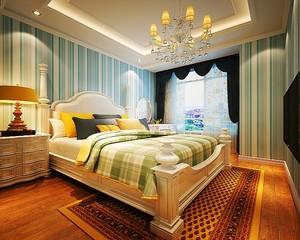 欧式风格暖色温馨大户型室内设计装修效果图