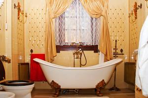 奢华精美欧式风格卫生间装修效果图,你把卫生间当成家里一个不起眼的角落吗?其实,卫生间不能小觑!它与我们的健康休戚相关。