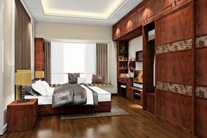 新中式风格古典风卧室装修效果图