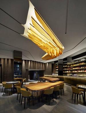 现代风格时尚酒吧设计装修效果图